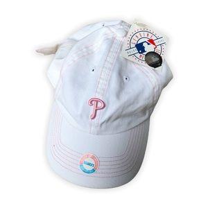 💥3/$20💥 Phillies Women's Baseball Cap NWT
